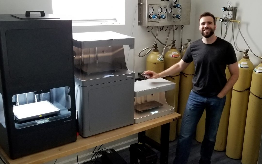 GovSmart Equips Additive Manufacturing Lab with Markforged
